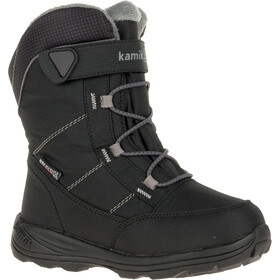 Kamik Stance Boots Kids black mid grey